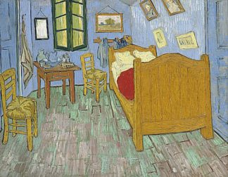 V549D - Van Gogh, Vincent - The Bedroom, 1888
