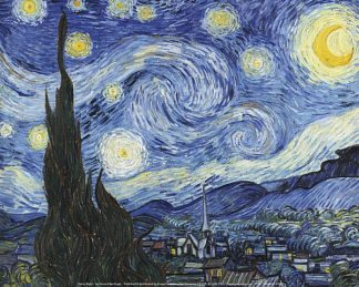 V554 - Van Gogh, Vincent - Starry Night