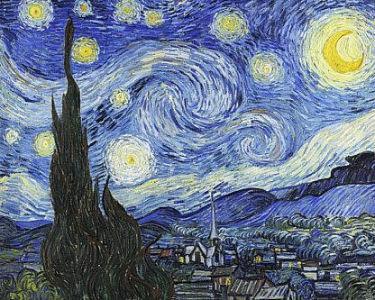 V554D - Van Gogh, Vincent - Starry Night