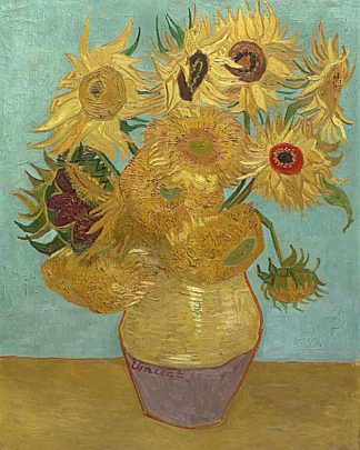 V555D - Van Gogh, Vincent - Sunflowers, 1889