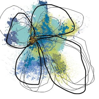 W588D - Weiss, Jan - Azure Petals I