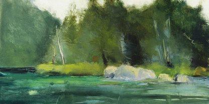 W799D - Wakefield, Martha - Lily Pond & Dark Woods