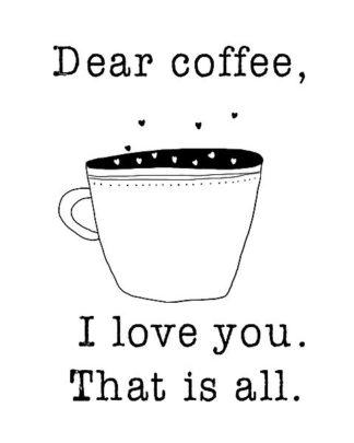 W831D - Weiss, Jan - Dear Coffee