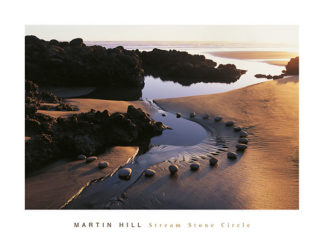 20936 - Hill, Martin - Stream Stone Circle, White Beach, New Zealand
