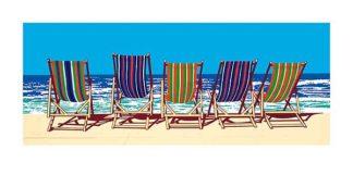 44775 - Sanders, Jonathan - Five Deckchairs