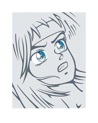 45022D - Terratag - Girl in Grey