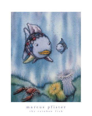 5219 - Pfister, Marcus - Rainbow Fish and the Little Blue Fish