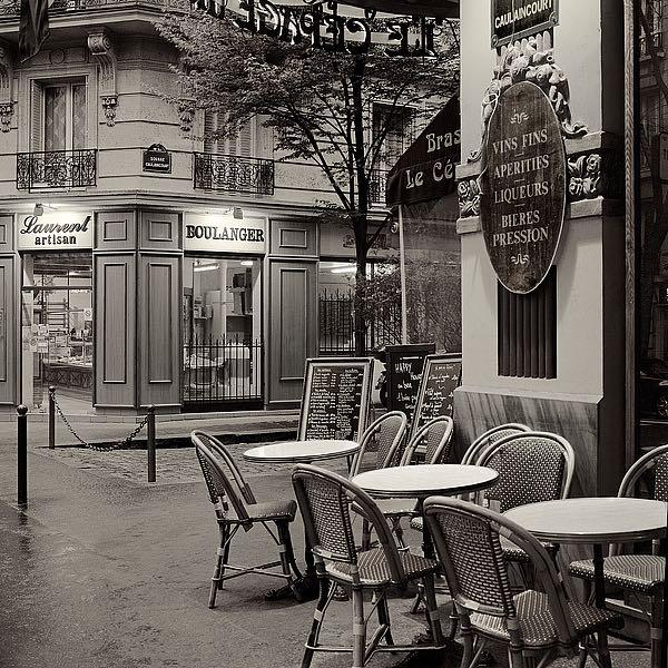 ABFR657 - Blaustein, Alan - Café, Montmartre
