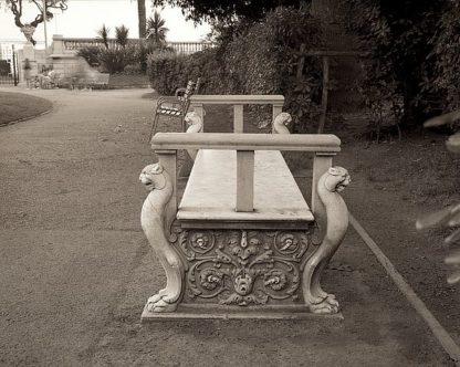 ABFRC185 - Blaustein, Alan - Banc de Jardin #85