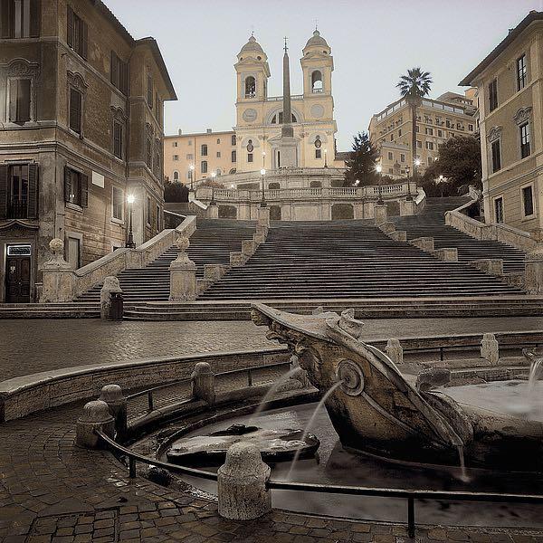 ABITC2306 - Blaustein, Alan - Spanish Steps Rome #1