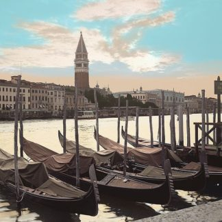 ABITC5022 - Blaustein, Alan - Campanile Vista with Gondolas #1