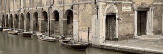 ABITH132C - Blaustein, Alan - Canal Boats with Passageway
