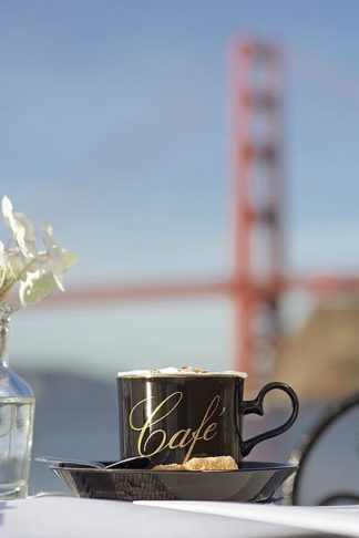 ABSFH388 - Blaustein, Alan - Dream Cafe Golden Gate Bridge #88