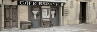 ABSPH269C - Blaustein, Alan - Cafe Espana Pano #1