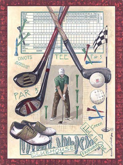 AP1490 - Phillips, Anita - Golf Swing I