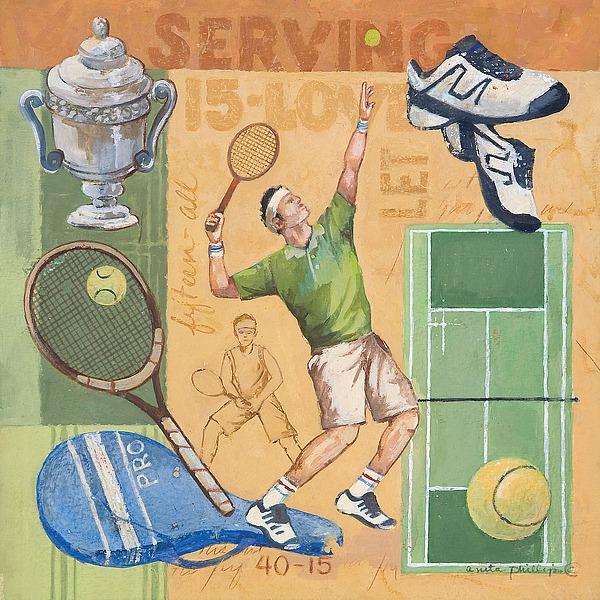 AP1643 - Phillips, Anita - Let's Play Tennis