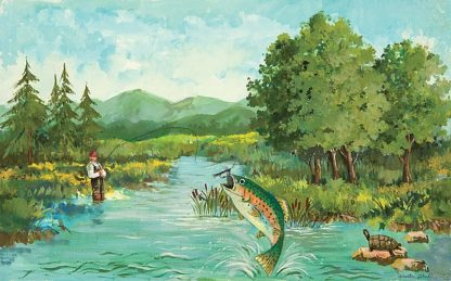 AP1747 - Phillips, Anita - Trout Jumping
