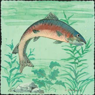 AP1751 - Phillips, Anita - Trout Swimming I