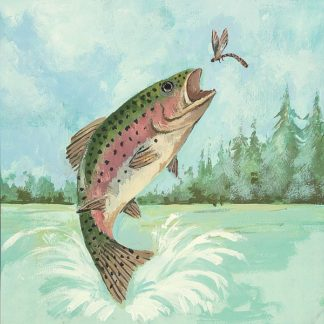 AP1755 - Phillips, Anita - Trout Jumping