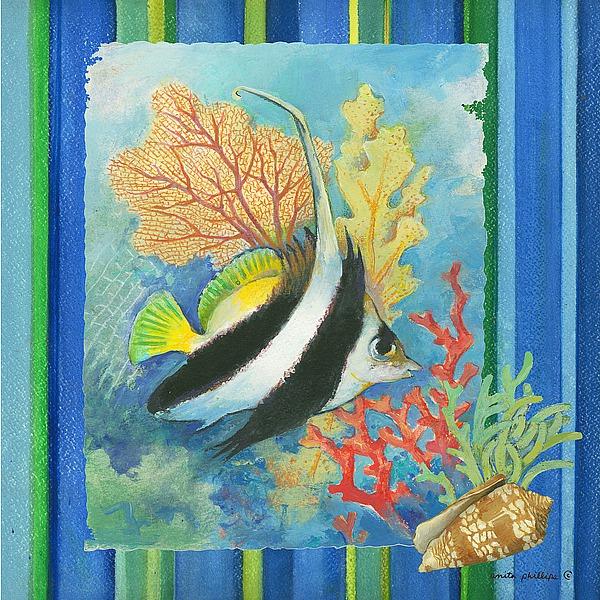 AP1873 - Phillips, Anita - Tropical Fish I