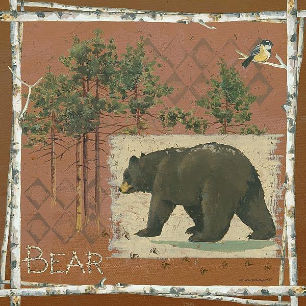 AP1912 - Phillips, Anita - Bears on Red
