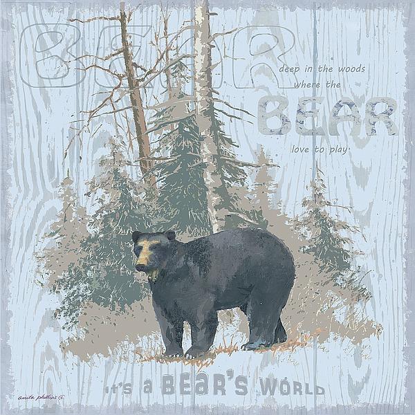 AP1934 - Phillips, Anita - Bear's World Gray