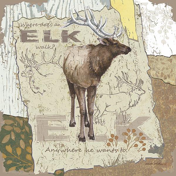 AP1949 - Phillips, Anita - Elk Walk