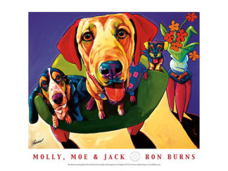 B1040 - Burns, Ron - Molly, Moe & Jack