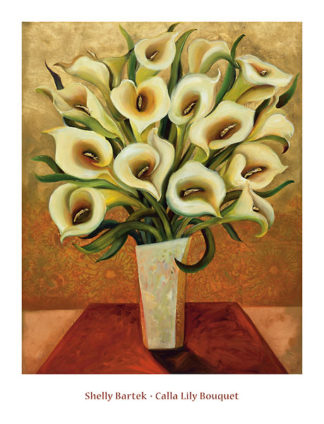 B1193 - Bartek, Shelly - Calla Lily Bouquet