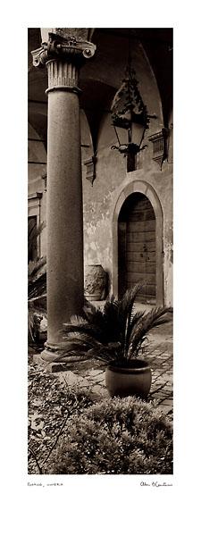 B1206 - Blaustein, Alan - Portico, Umbria