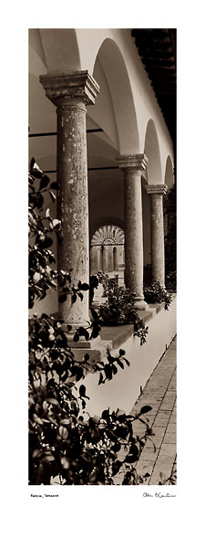 B1207 - Blaustein, Alan - Portico, Toscana