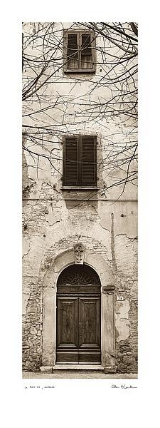 B1211 - Blaustein, Alan - La Porta Via, Volterra