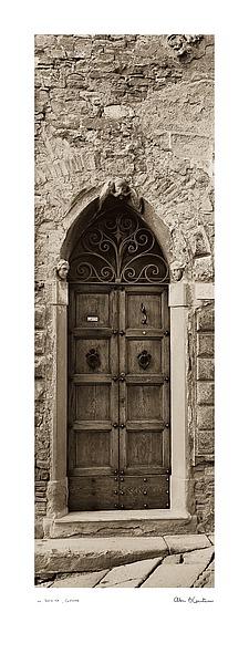 B1212 - Blaustein, Alan - La Porta Via, Cortona