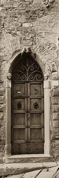 B1212D - Blaustein, Alan - La Porta Via, Cortona