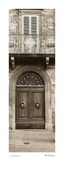 B1213 - Blaustein, Alan - La Porta Via, Todi