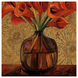 B1252 - Bartek, Shelly - Orange Lilies