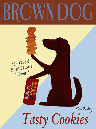 B2728 - Bailey, Ken - Brown Dog Tasty Cookies