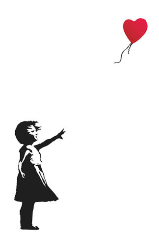 B2894 - Banksy - Balloon Girl