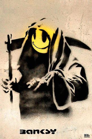 B2897 - Banksy - The Reaper
