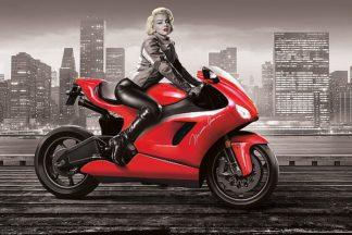 B3081D - Brando, J.J. - Marilyn's Motorcycle