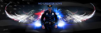 B3133 - Bullard, Jason - No Greater Love (Police)