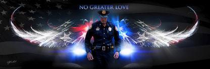 B3133 - Bullard, Jason - No Greater Love (Police)