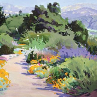 B3529D - Burtt, Marcia - Path through the Poppies