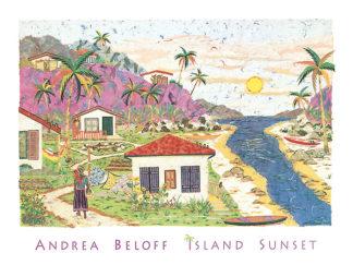 B380 - Beloff, Andrea - Island Sunset