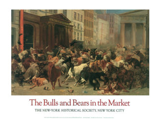 B473 - Beard, William H. - The Bulls and Bears in the Market