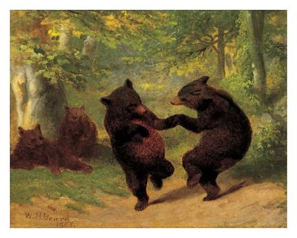 B669 - Beard, William H. - Dancing Bears