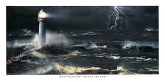 B975 - Bloom, Steve - Lightning at the Lighthouse