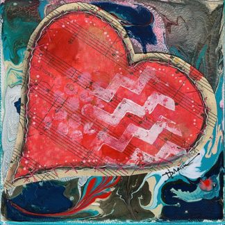 BD1077 - Braun, Denise - Stitched Red Heart II