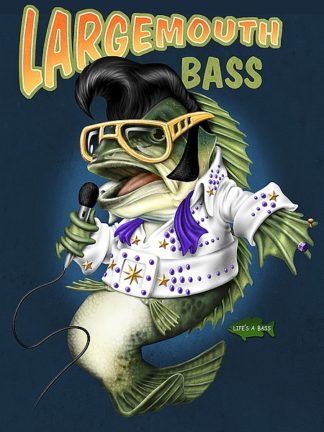 BM1166 - Baldwin, Jim - Largemouth Bass (rectangular)