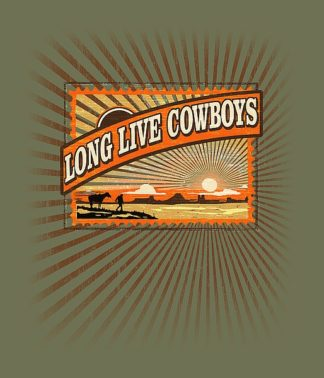BM1200 - Baldwin, Jim - Long Live Cowboys
